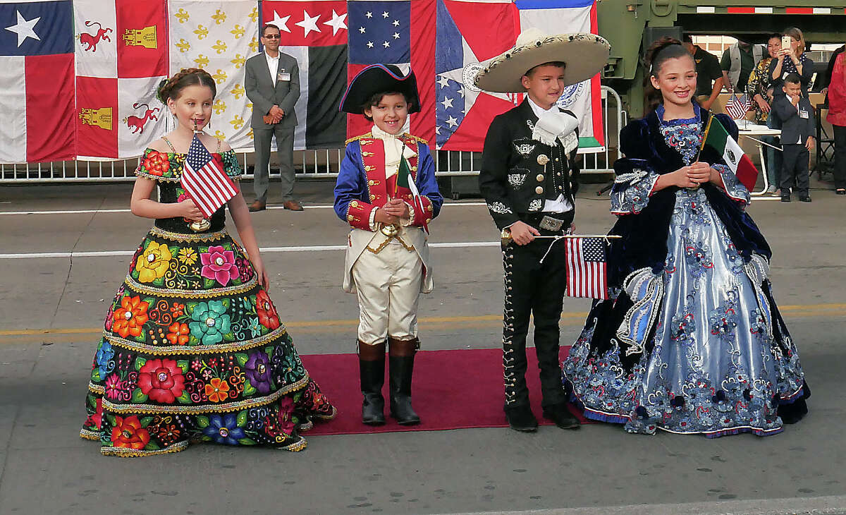 Scenes from Juarez-Lincoln International Bridge as locals from Laredo and Nuevo Laredo join together for the annual International Bridge Ceremony.
