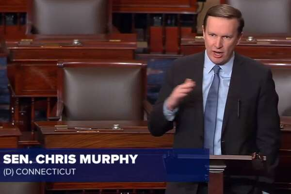 "School shootings a ""consequence of our inaction,"" Sen. Chris Murphy said from the Senate floor, remarkably, while the tragedy was still unfolding."