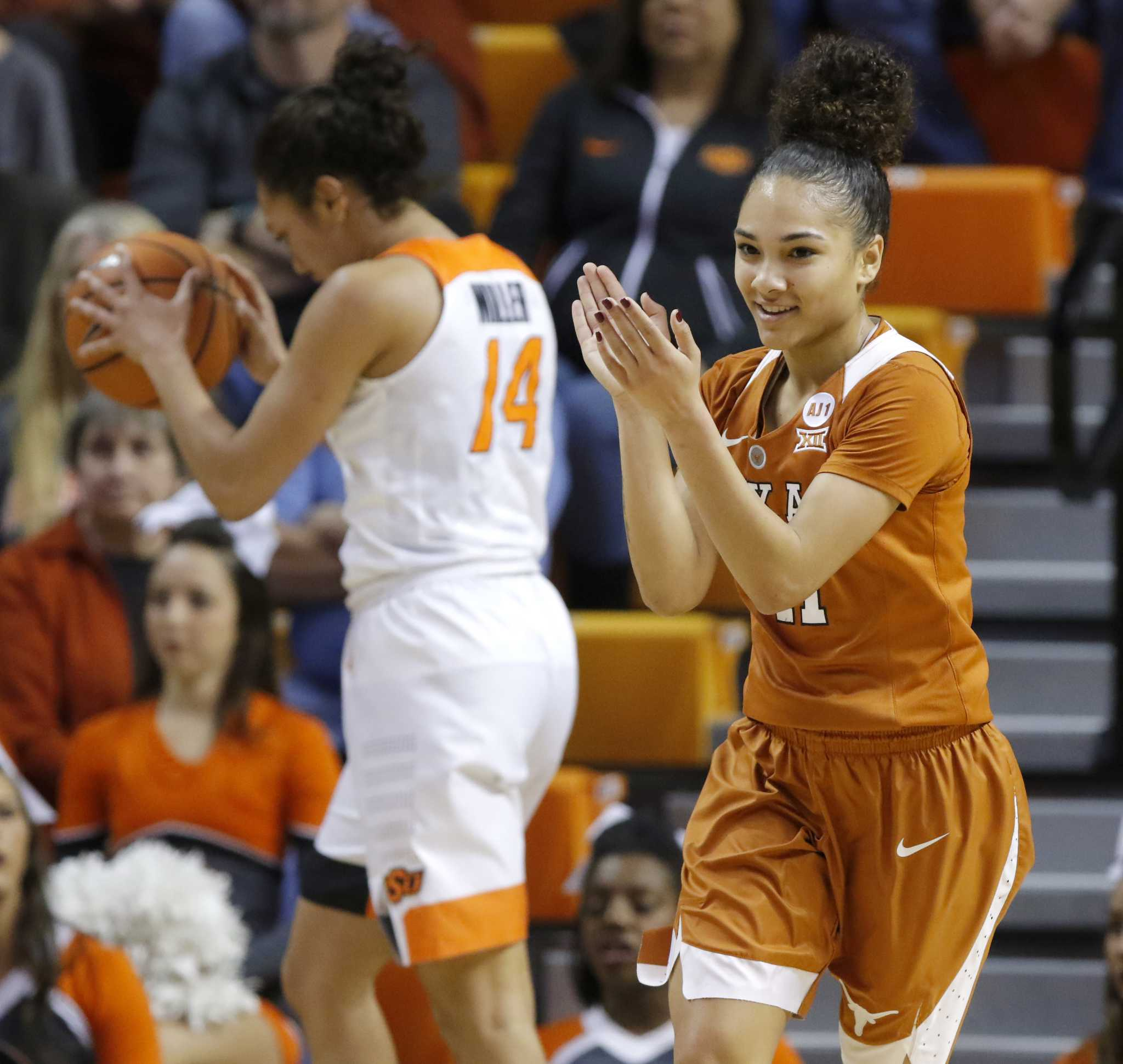 Brooke McCarty's 17 Points Lead No. 6 Texas Past No. 21