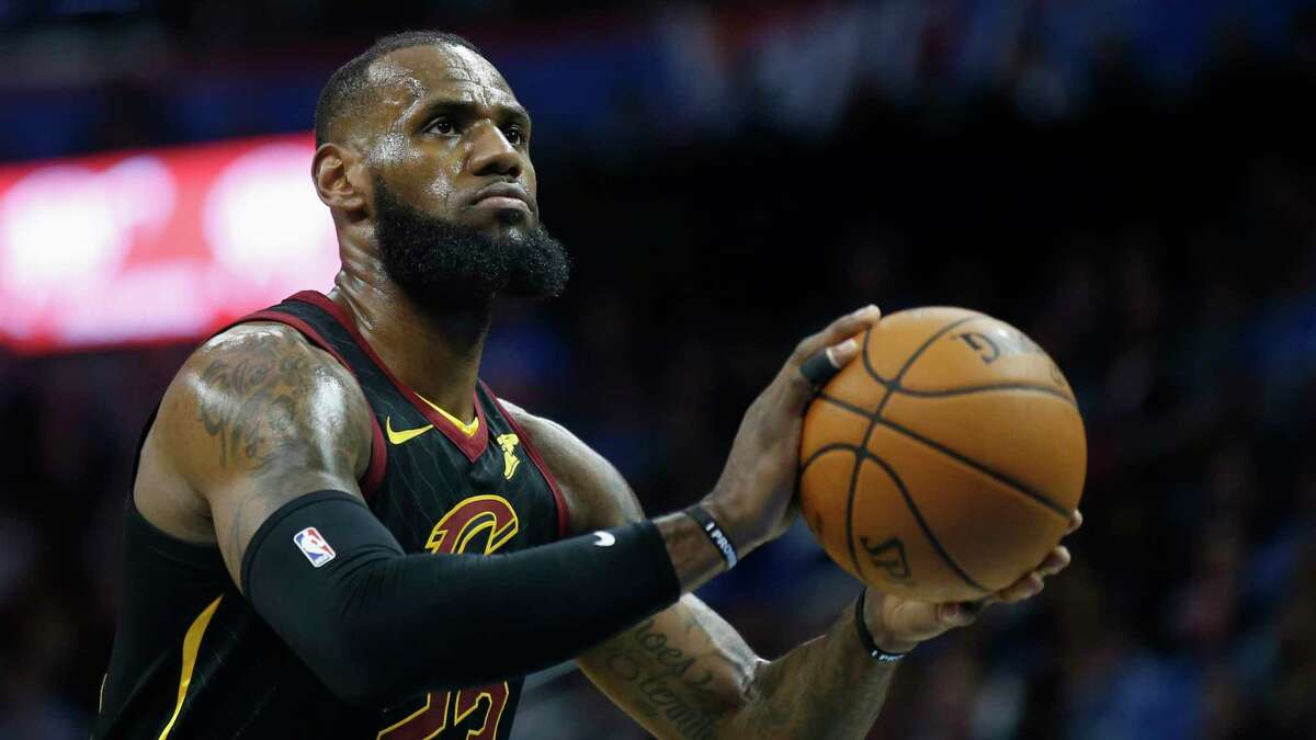 The Rockets' faint hopes to land LeBron James took another hit Friday morning when James told the Cavaliers he would not exercise the option on the final season of his contract to instead become a free agent. (AP Photo/Sue Ogrocki) PHOTOS: Best free agents available in the 2018 offseason