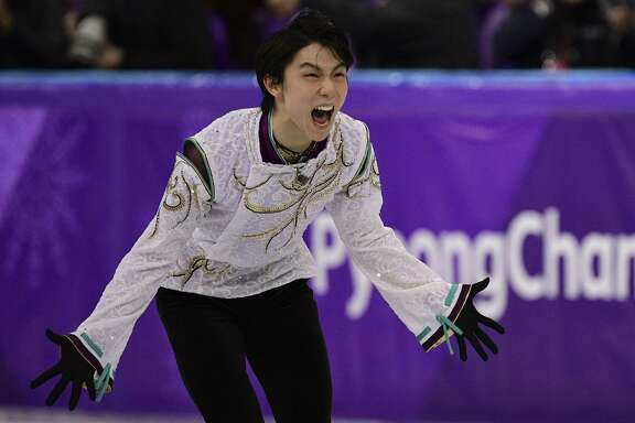Japan's Yuzuru Hanyu is beyond excited Saturday at becoming the first repeat Olympic champion in men's skating since American Dick Button 66 years ago.