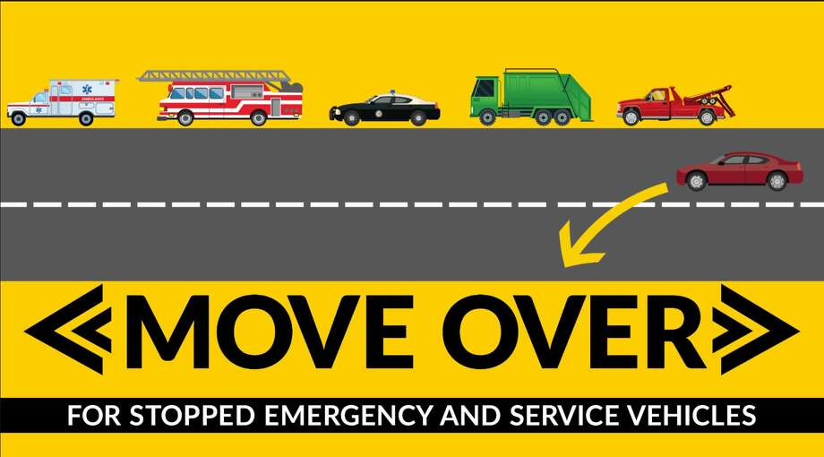 The Montgomery County Sheriff's Office along with The Texas Department of Public Safety (DPS) is beginning enforcement efforts across Montgomery County focusing specifically on violations of the state's Move Over or Slow Down law. Photo: MCSO