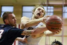 Forward Damon Leach had a career-high 14 points off the bench in the Dustdevils' 77-63 loss at St. Edward's. TAMIU plays at St. Mary's Saturday with a spot in the Heartland Conference Tournament on the line.