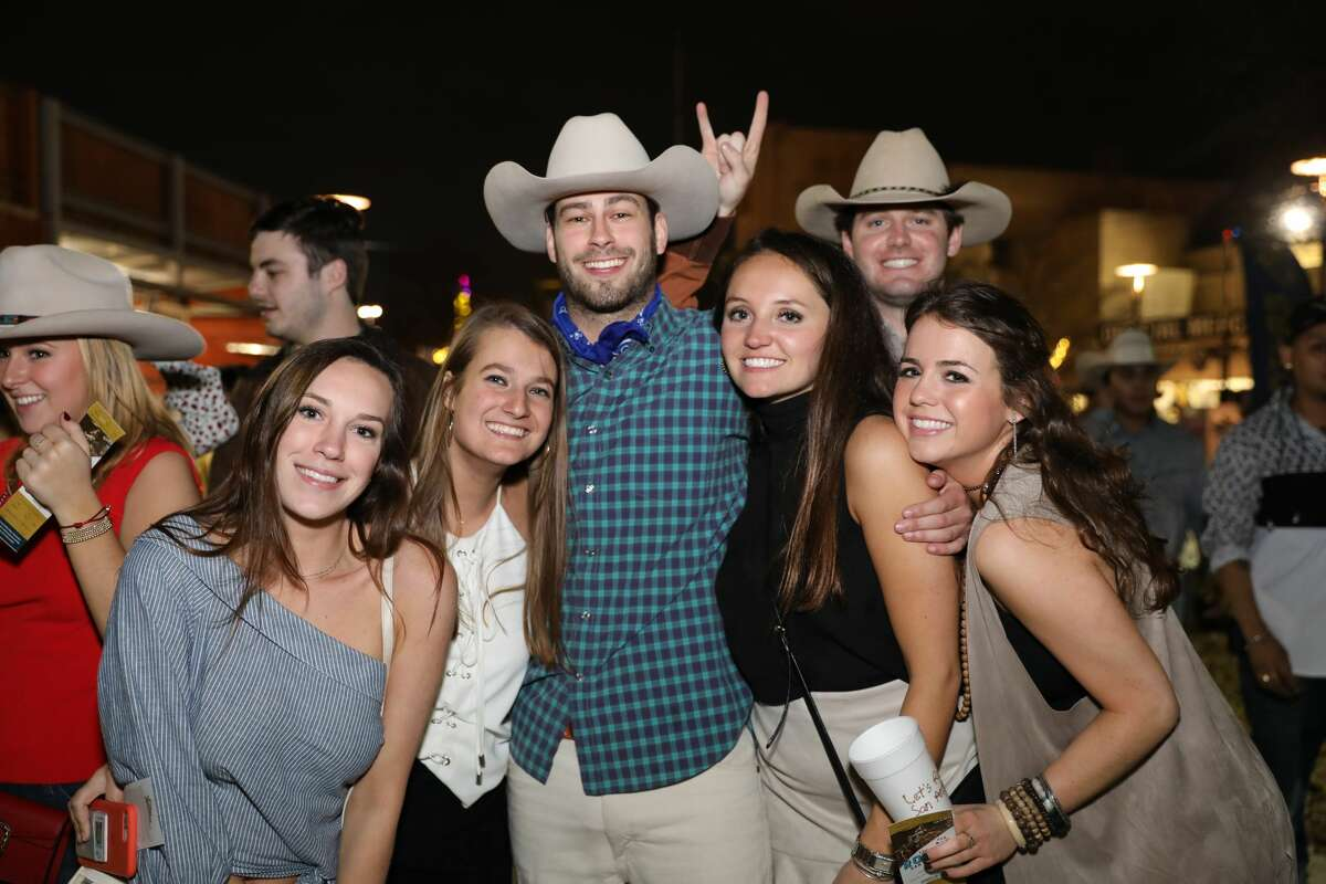In addition to the carnival midway and rodeo action on Saturday, Feb. 17, 2018, large crowds at the San Antonio Stock Show & Rodeo were entertained by Colombian singer J Balvin.