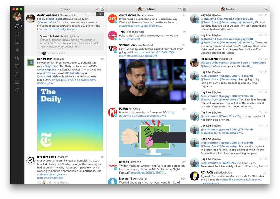 Tweetbot for Mac. Photo: Chronicle Screenshot