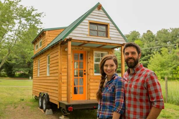 """Alexis Stephens and Christian Parsons have been living in a 130 square foot tiny home for several years now. She said it made them realize their communication styles are different. """"Our increased communication has made us more intimately aware of each other's quirks and preferences. I can often identify what his different sighs mean. Basically, we have fine-tuned our perception of each other's signal and needs,"""" she said."""