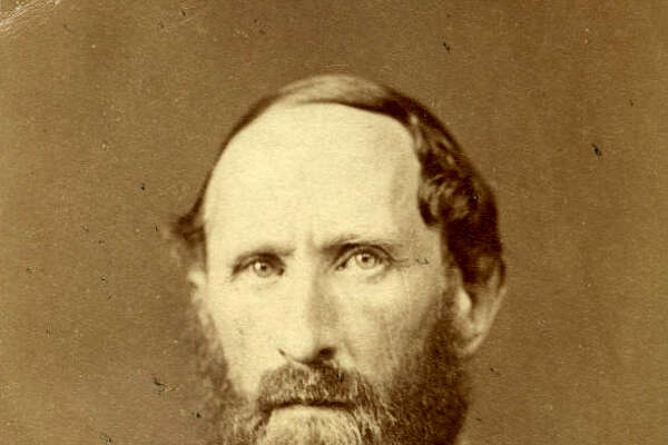 Virginia Military Institute surgeon Robert L. Madison in 1870. Madison was James Madison's favorite nephew, and had lived for a time in the White House when his uncle was president.