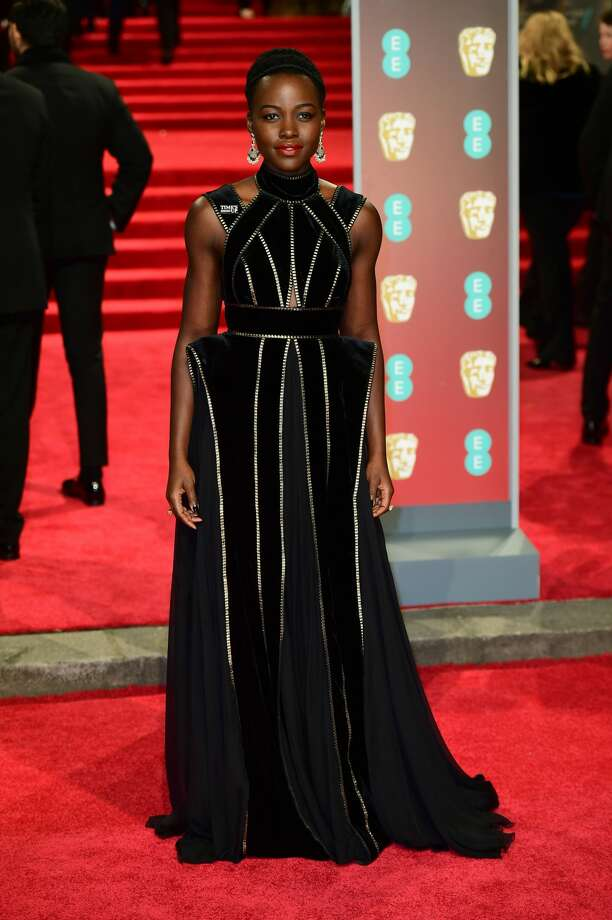 Best: Lupita Nyong'o's dress is strong and fierce... just like her. Photo: Ian West - PA Images/PA Images Via Getty Images