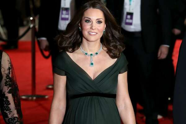 LONDON, ENGLAND - FEBRUARY 18:  Catherine, Duchess of Cambridge attends the EE British Academy Film Awards (BAFTA) held at Royal Albert Hall on February 18, 2018 in London, England.  (Photo by Chris Jackson - WPA Pool/Chris Jackson/Getty Images)