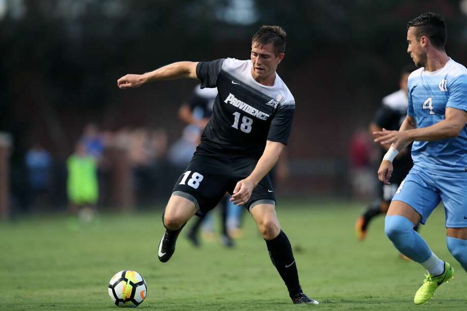 Former Providence forward Mac Steeves has scored three goals in 155 minutes with the Dynamo so far this preseason. Photo: Icon Sportswire/Icon Sportswire Via Getty Images