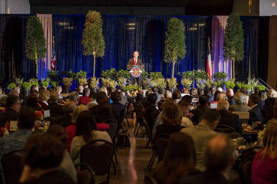 Pasadena Chamber of Commerce saw a record-breaking 700 business and industry partners come together for Pasadena's annual State of the City luncheon. Photo: Stanley White.