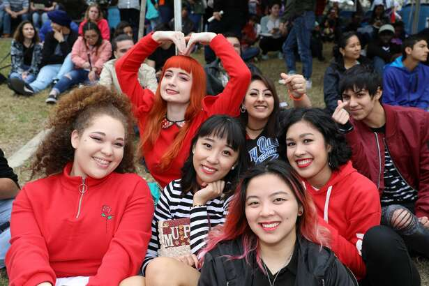 The Institute of Texan Cultures hosted the annual  Asian Festival, Saturday, Feb. 17, 2018. Traditional Asian dances and modern K-pop entertained the large  crowd, while authentic food and music added to the celebration of the Asian culture.