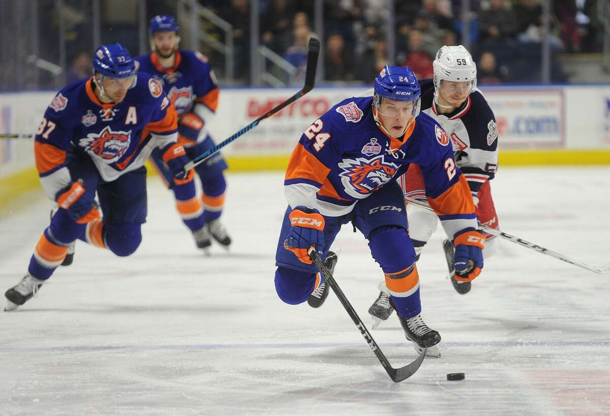 Connecticut rivals, the Hartford Wolf Pack and Bridgeport Sound Tigers, will face off thisSaturday nightat the XL Center.Find out more.