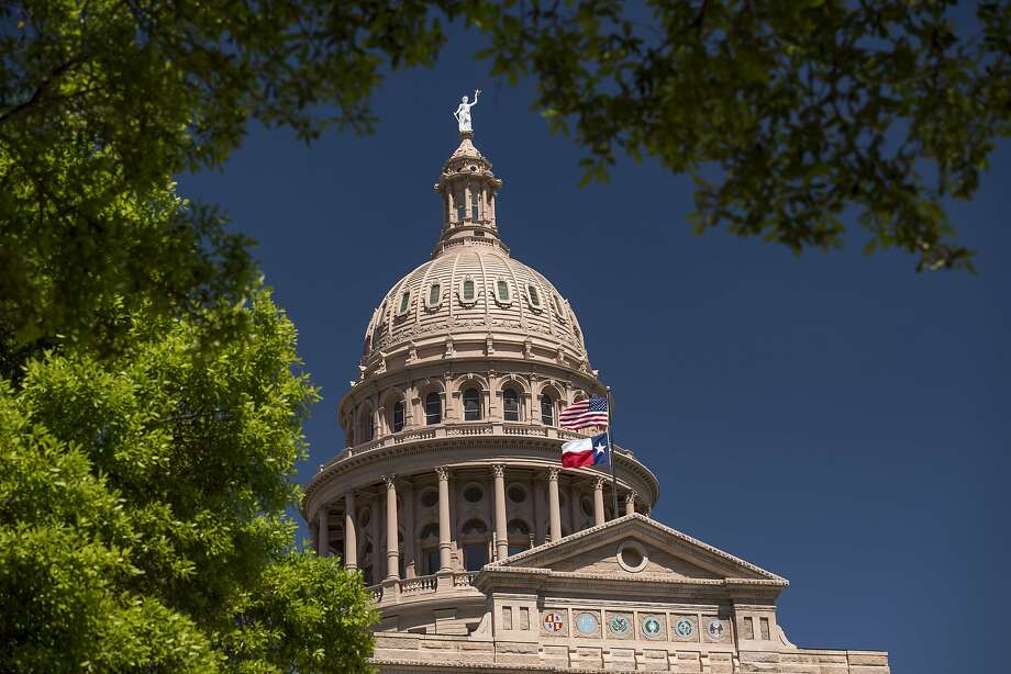 A California-Texas summit could be held in Austin, which is a chunk of California in the heart of Texas. Photo: David Paul Morris, Bloomberg