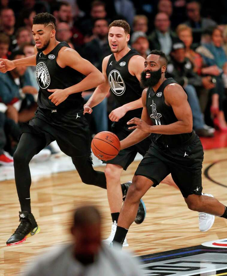 James Harden And Stephen Curry: Feb. 18: NBA All-Star Game