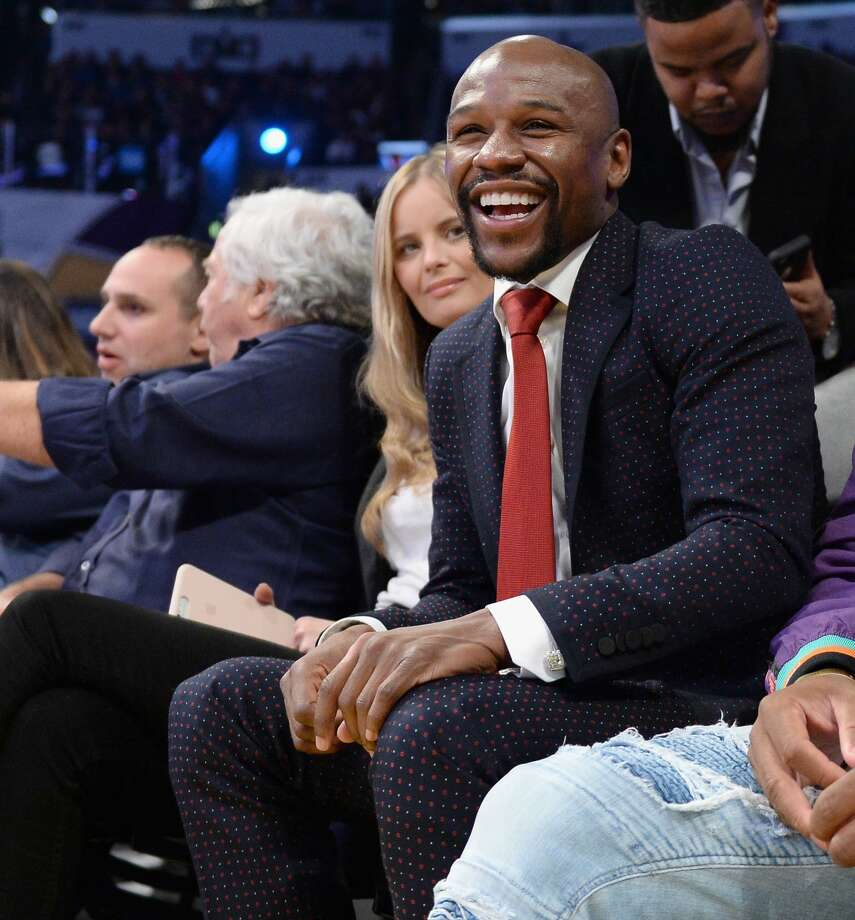 LOS ANGELES, CA - FEBRUARY 18: Floyd Mayweather attends the NBA All-Star Game 2018 at Staples Center on February 18, 2018 in Los Angeles, California. (Photo by Kevork Djansezian/Getty Images) Photo: Kevork Djansezian/Getty Images
