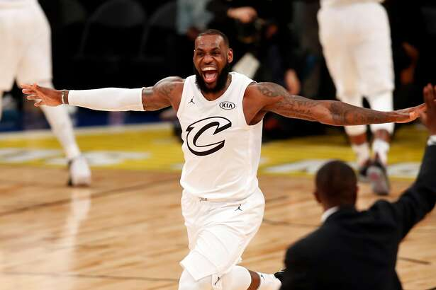 Team Stephen's Team LeBron's during NBA All Star Game at Staples Center in Los Angeles, Calif., on Sunday, February 18, 2018.