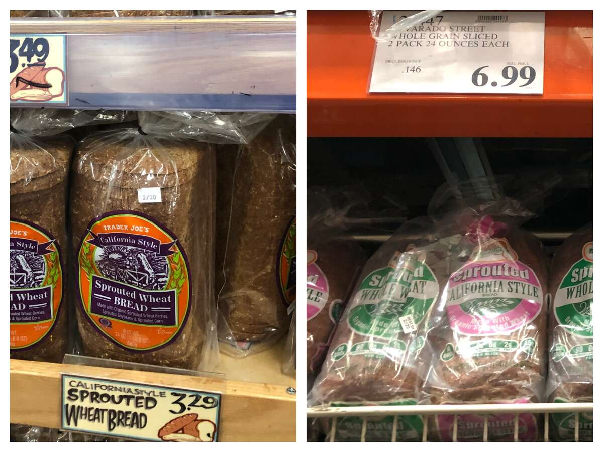 We compared prices for groceries at Trader Joe's and Costco. Click ahead to see who's got the best deals.