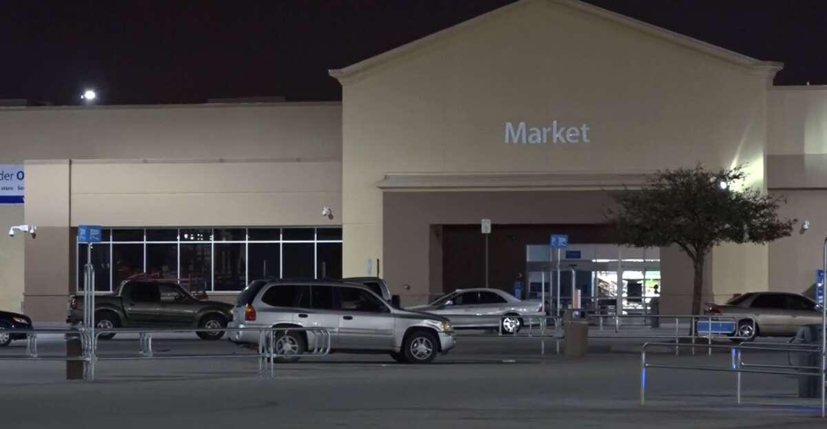 One man was shot and killed Sunday, Feb. 18, 2018 in a Walmart parking lot near Almeda Genoa and Rowlett.