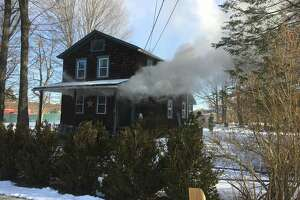 A fire broke out at a Judd Avenue house on Monday, Feb. 19, 2018 in Bethel.