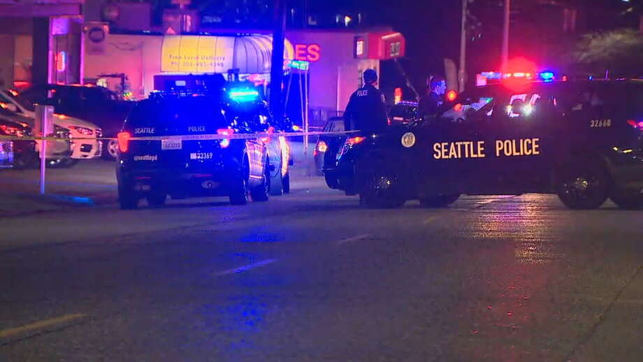 A man was shot and killed by Seattle police early Monday morning. Details about the incident were sparse in initial reports. Photo: KOMO News Photo