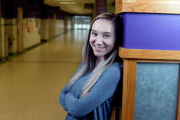 Hope Clark was born with congenital heart defects that caused her to have a narrow aorta and five small holes in the heart. Clark is now a senior at Port Neches-Groves High School and plans to go into dermatology after high school.  Photo taken Tuesday 2/13/18 Ryan Pelham/The Enterprise