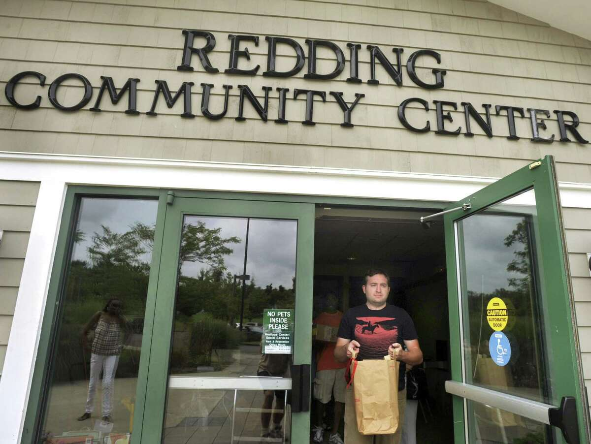 File photo of the Redding Community Center