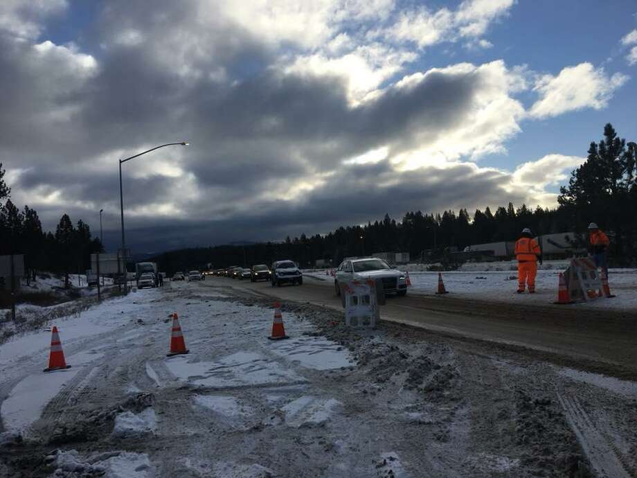 Record low temperatures are expected throughout the Bay Area this week, forecasters said. Travelers from the Tahoe area were warned of icy driving conditions.
