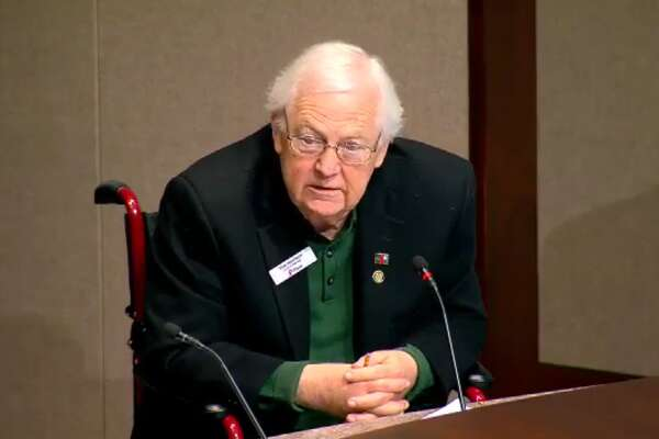 """I want to assure the citizens of Plano that I am not xenophobic. I am not a bigot. I am not a racist,"" Harrison told a crowd at City Hall on Sunday. ""I did put an apology out there. I did put a cautious note out there saying I will be cautious from now on, but I will not resign."""