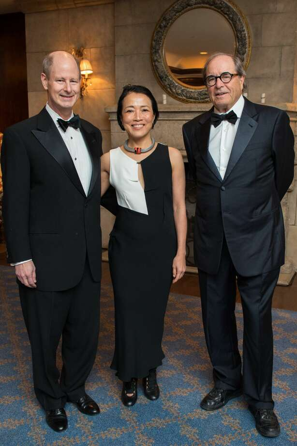 2018 Inprint Poets & Writers Ball at The Houstonian Hotel with Ball Chairs Eddie Allen and Chinhui Juhn, featured speaker Paul Theroux Photo: Michelle Watson / CatchLight Group, LLC/Photo By Michelle Watson/CatchLightGroup.com