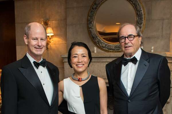 2018 Inprint Poets & Writers Ball at The Houstonian Hotel with Ball Chairs Eddie Allen and Chinhui Juhn, featured speaker Paul Theroux