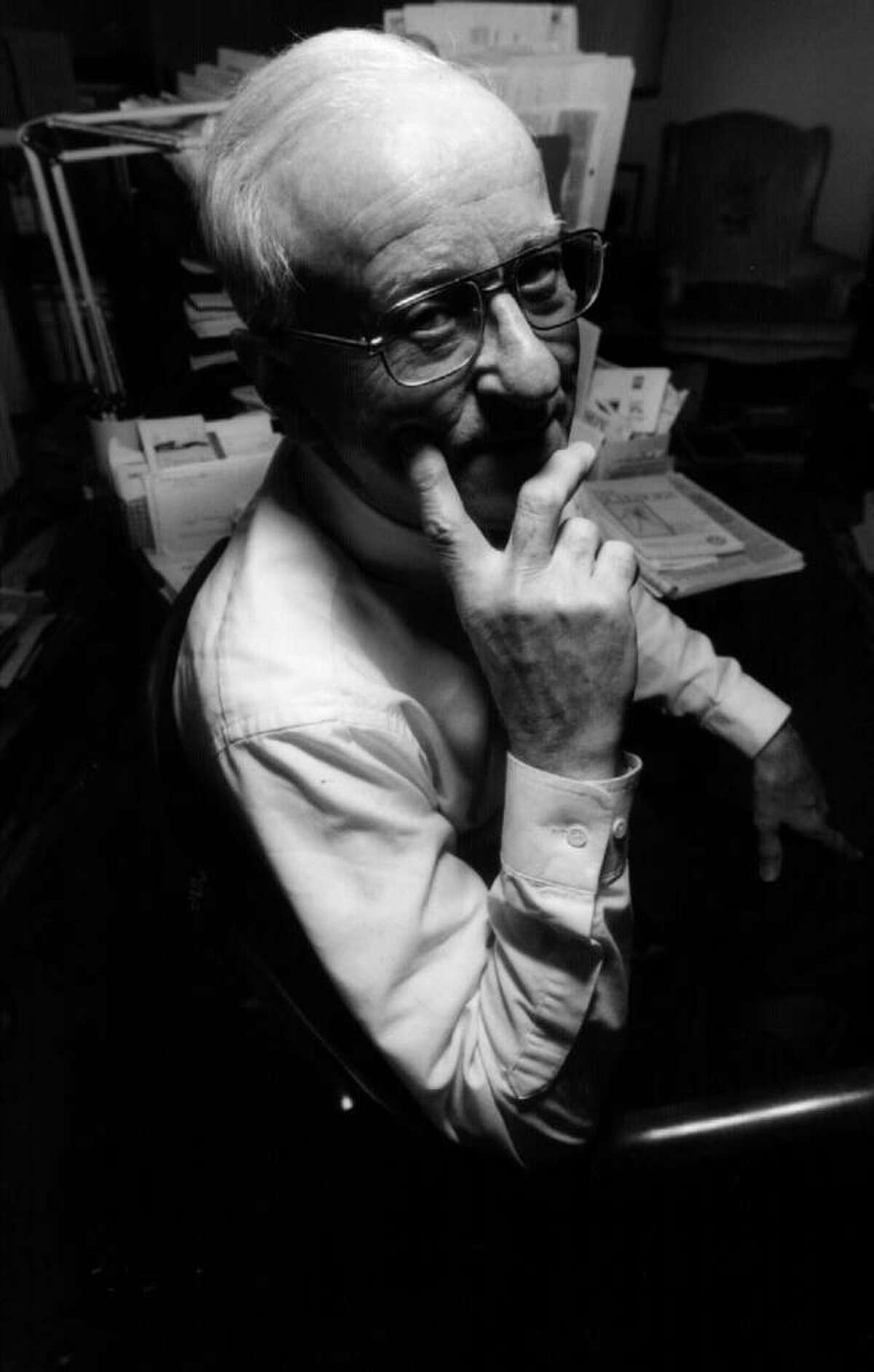 Herbert Clark, a retired RPI professor of chemistry, died Thursday at the age of 90. (Times Union archive)