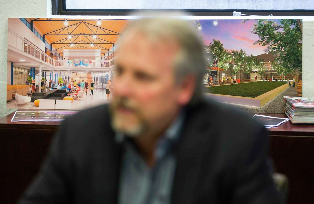 Venture capitalist Mark Toon, of Work America Capital, talks about the investment he is making in a future tech hub in West Houston called the Founder's District. Construction is underway for the co-working space on the site called The Cannon.