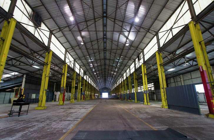 Investors are planning to convert the former Surefire manufacturing facility in west Houston into a tech hub called the Founder's District, Wednesday, Feb. 7, 2018. ( Mark Mulligan / Houston Chronicle )