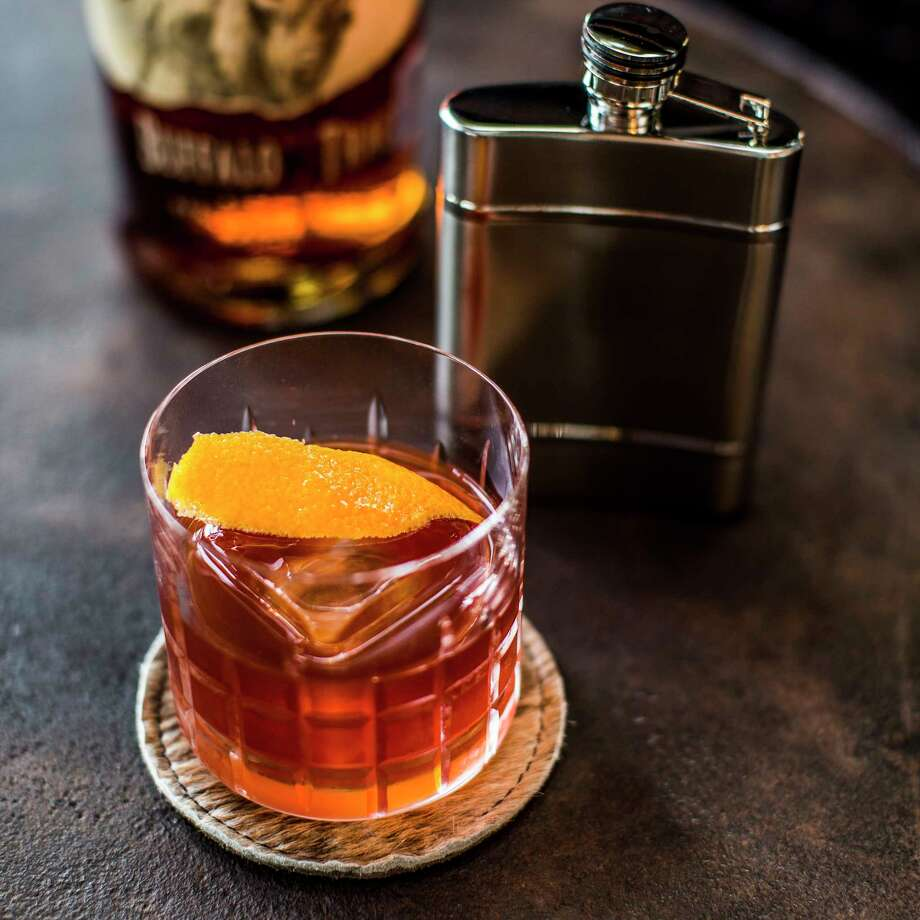 The Old Fashioned is one of the most popular cocktails at Delta Blues Smokehouse in Webster. Photo: Pappas Restaurants / Julie Soefer