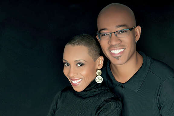 CHILDREN'S BOOKS: Author Andrea Pinkney with illustrator-husband Brian Pinkney