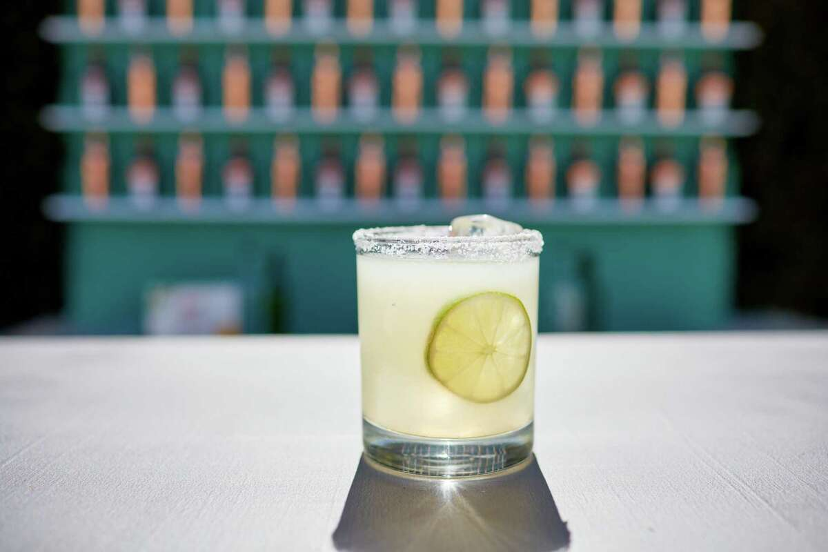The makers of Cointreau are marking 2018 as the 70th anniversary of the purported creation of the margarita cocktail, which was first crafted with tequila, triple sec (orange flavored liqueur such as Cointreau) and lime. Their recipe for the Original Margarita calls for 2 ounces blanco tequila, 1 ounce Cointreau and 1 ounce fresh lime juice.