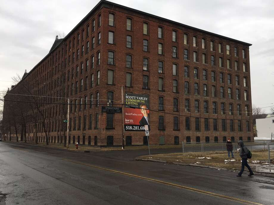 Owners of the Standard Manufacturing building in Troy's Lansingburgh neighborhood are considering converting part of the space to apartments and offices.