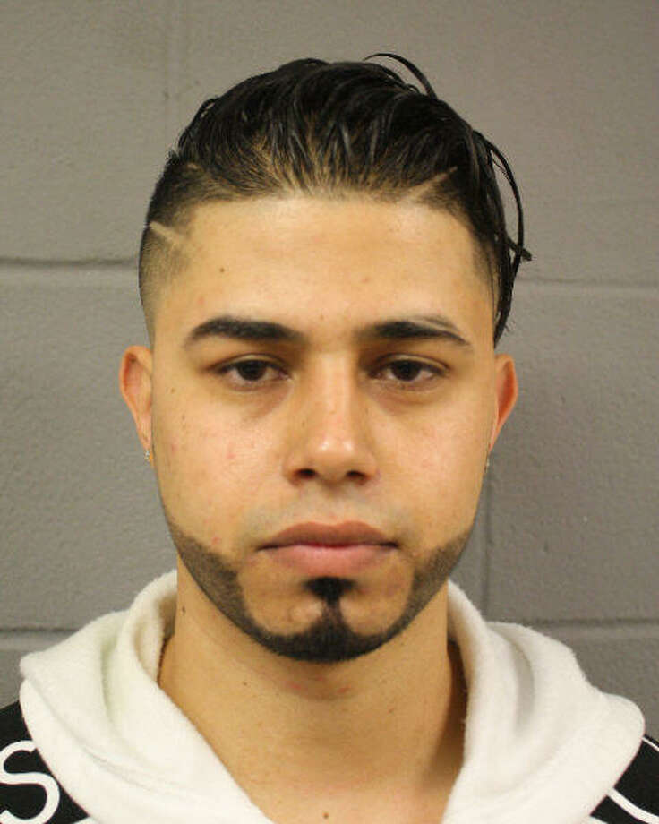 Zaid Najar, 24, was arrested early Sunday morning after allegedly leading police on a 130 mph chase on Beltway 8. Photo: Harris County Precinct 5 Constable's Office