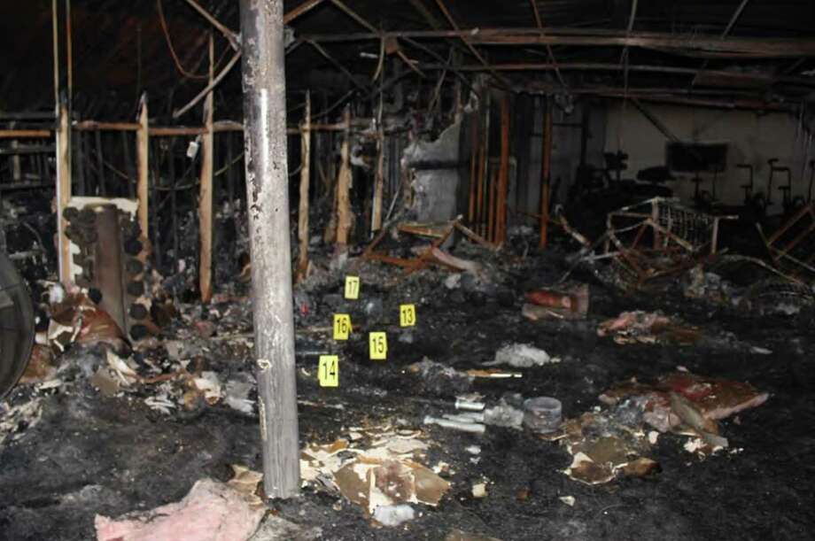 Interior of Spartan Box Gym, post fire. A state fire marshal report calls for changes in the San Antonio Fire Department. Photo: /Photo By DSFM Lt. B. Fine