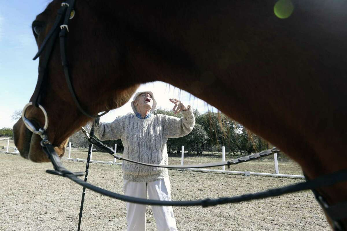 Triple H provides horse-centered therapy for adults and children with physical, mental and cognitive challenges. To help their clients, the center's instructors must not only be trained in proper therapeutic techniques, they also have to be good riders. And that's what Ramos teaches.
