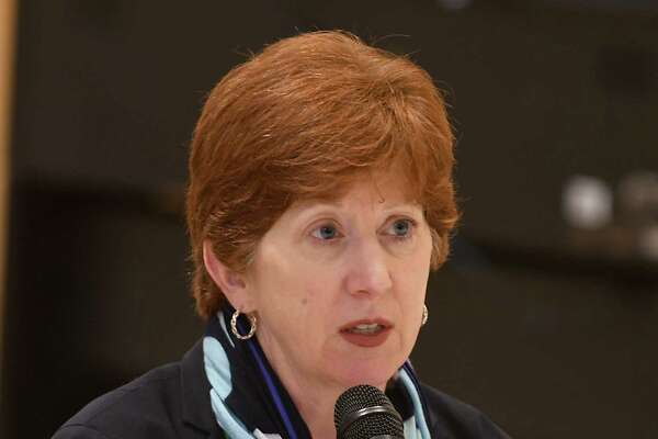 Albany Mayor Kathy Sheehan speaks about the Code Blue program during a press conference at the Capital City Rescue Mission on Monday, Nov. 6, 2017 in Albany, N.Y. (Lori Van Buren / Times Union)