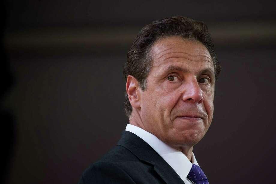 New York Governor Andrew Cuomo. (Photo by Drew Angerer/Getty Images) Photo: Drew Angerer / 2017 Getty Images