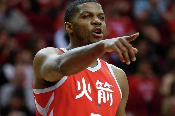 Working newcomers like Joe Johnson, above, and Brandan Wright into the mix is one of the Rockets' goals in the remaining 25 games.