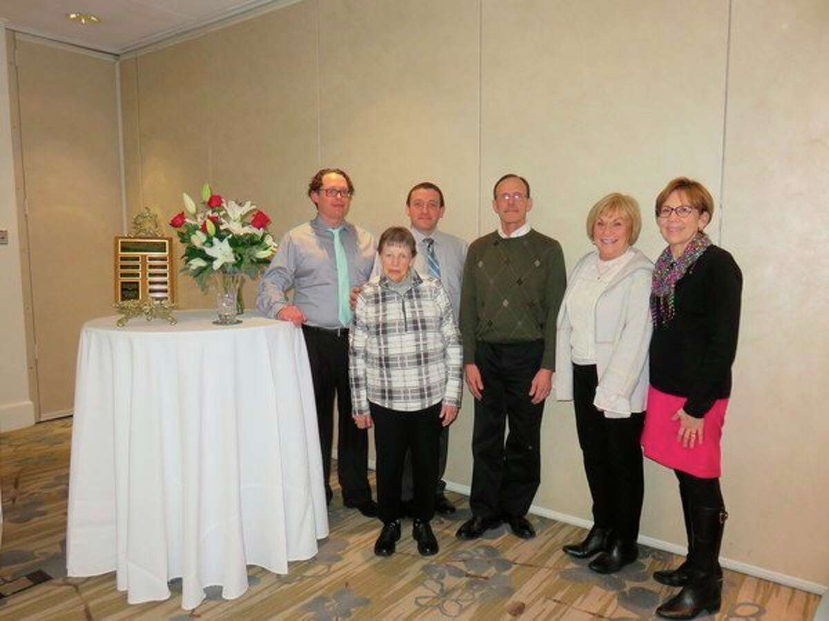 From left,Paul Kohtz, Mrs. Kohtz, Mark Kohtz, Jeff Kohtz, Mary Stutelberg and Maureen Donker. (Photo provided)