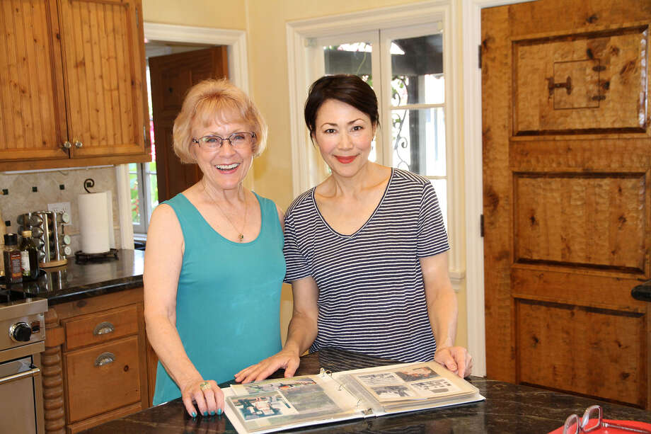 Ann Curry (left) with Sherie Labedis (right). / Credit: Courtesy of Justine Kershaw/Blink Films