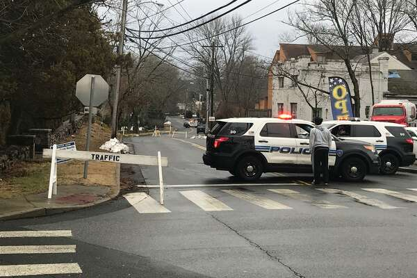 Homes are being evacuated near Woodway Road in Springdale following the discovery of a suspicious package in the area, police said. The Stamford Police Department's bomb squad and a bomb sniffing dog are canvassing the area.