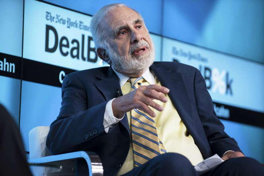 Activist investor Carl Icahn in November 2015 in New York City. (Karsten Moran/The New York Times) Photo: KARSTEN MORAN / New York Times / NYTNS