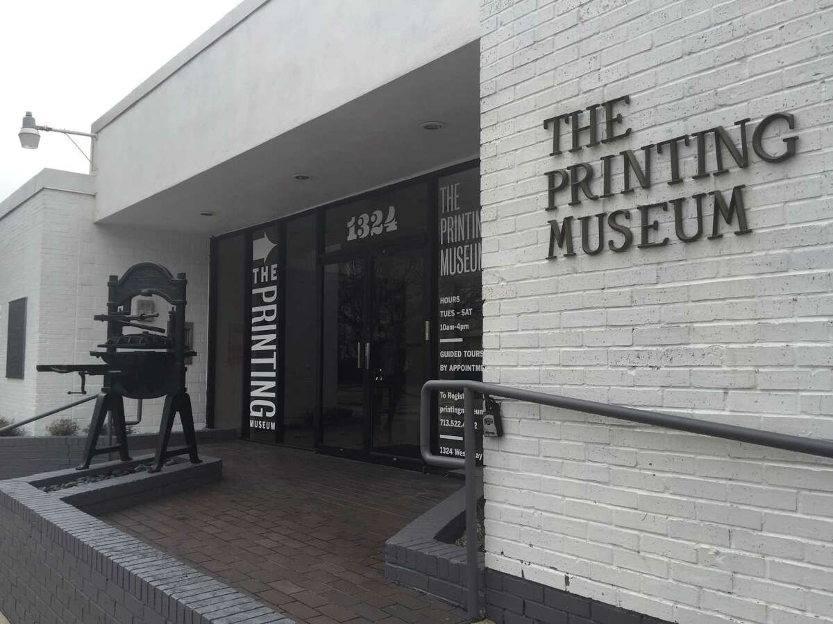 After being closed for 20 months, The Printing Museum is now open again.