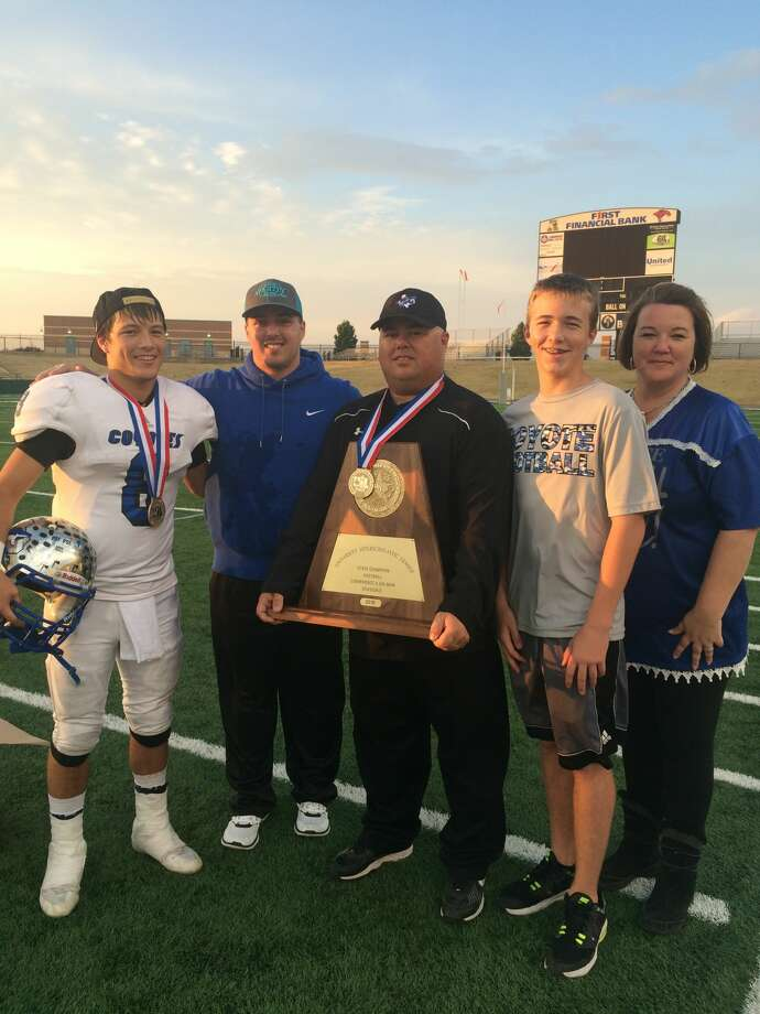 Richland Springs football coach Jerry Burkhart was approved Monday night by Stanton ISD school board to be its next athletic director and head football coach. Photo: Courtesy Photo
